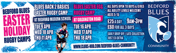 Blues Easter Egg Rugby Camp