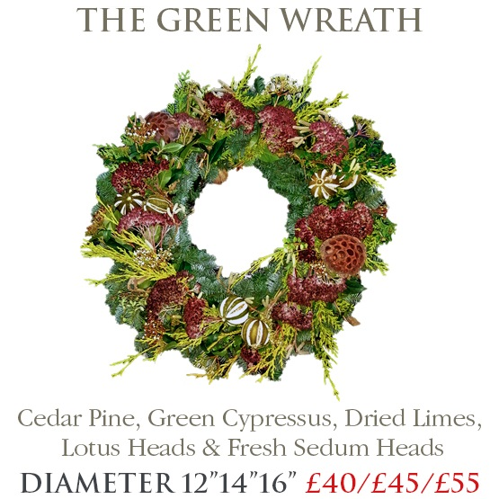 Green Wreath - SMALL