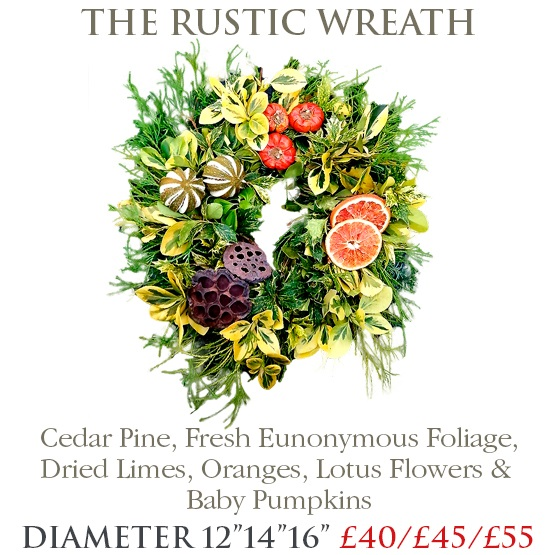 Rustic Wreath - SMALL