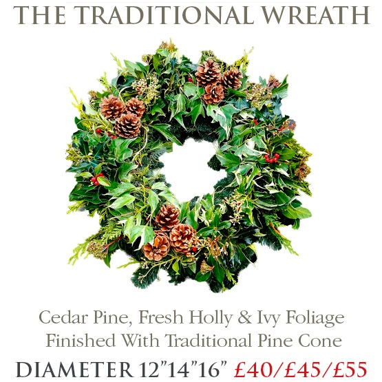 Traditional Wreath - MEDIUM